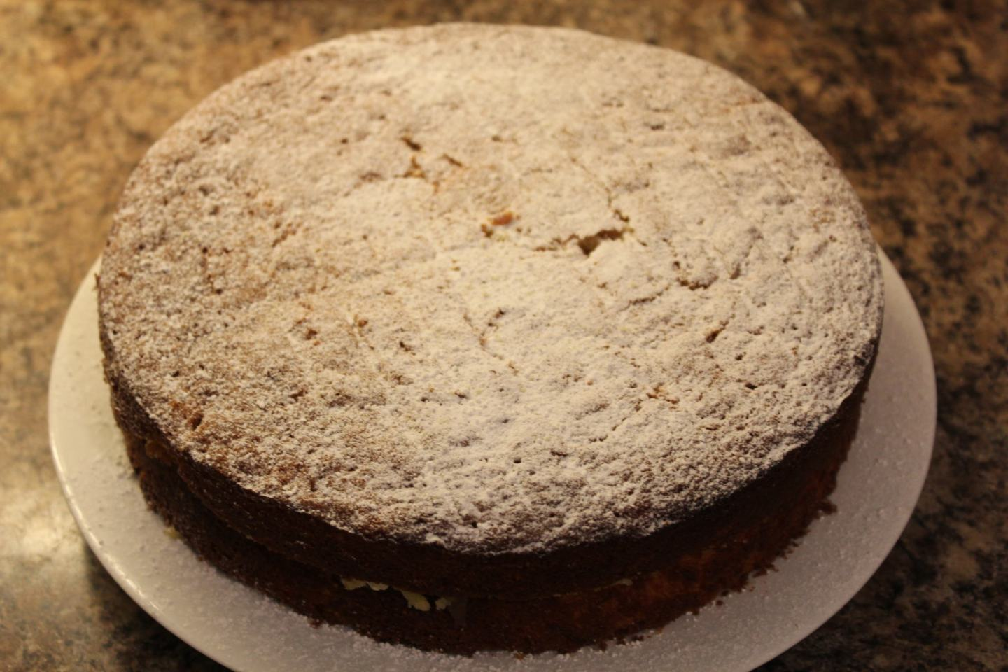 Parsnip and Lemon Sponge Cake