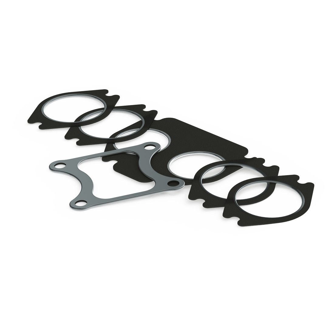 cummins 99 03 isx signature 600 exhaust manifold turbo gasket kit