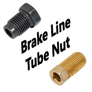 Brake Line Tube Nut