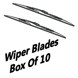 Select Your Box Size Of 10 Pcs Wiper Blades