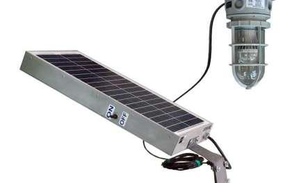 Solar Powered 10 Watt LED Hazardous Location Light Released by Larson Electronics
