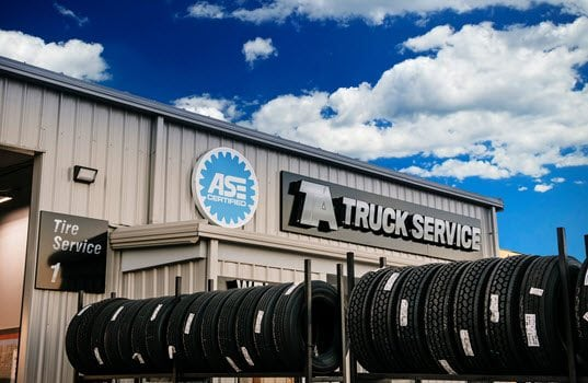 TA Truck Service Commercial Tire Network Provides Easy Access to Tire Expertise
