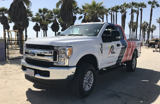 XL's Electrified Ford F-250 Earns California Air Resources Board Executive Order