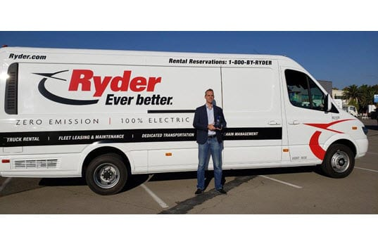 Ryder Receives 2018 Green Fleet Award