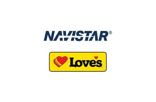 Navistar Forms Service Partnership With Love's Travel Stops