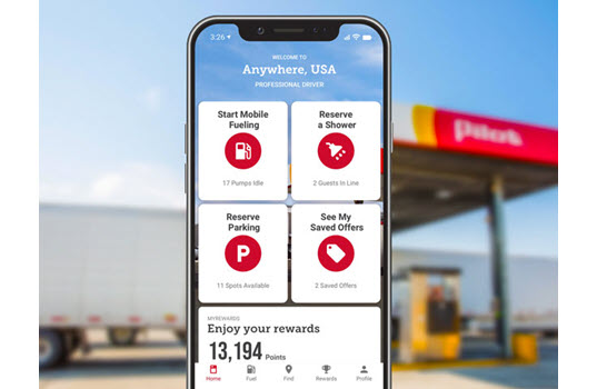 Pilot Flying J's New Mobile App Hits the Road