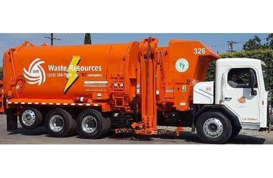 City Of Carson Unveils The First Electric Trash Truck To Provide Residential Service