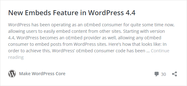 wordpress-post-embedding