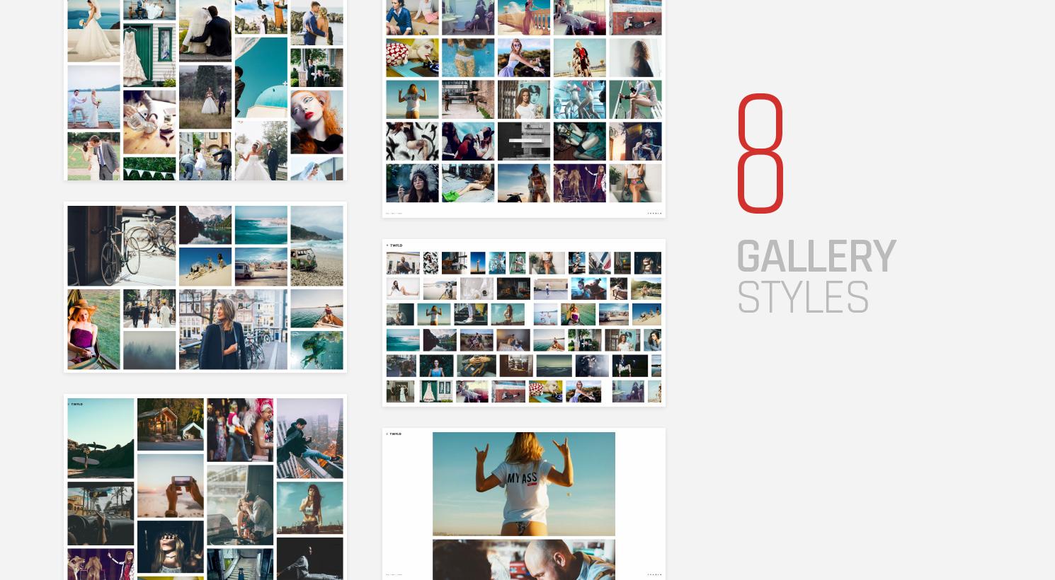 TwoFold - Fullscreen Photography Theme