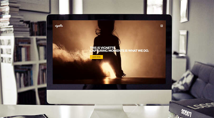 best photography themes: vignette