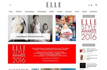 ELLE Kazakhstan WordPress Theme