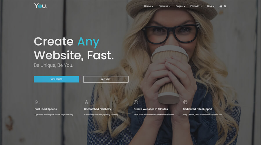 WordPress One Page Themes: You
