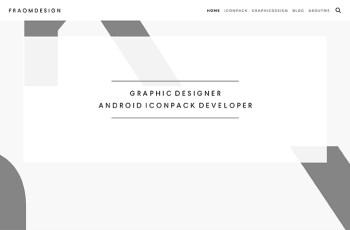 Fraom Design WordPress Theme