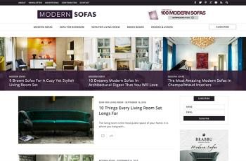 Modern Sofas WordPress Theme