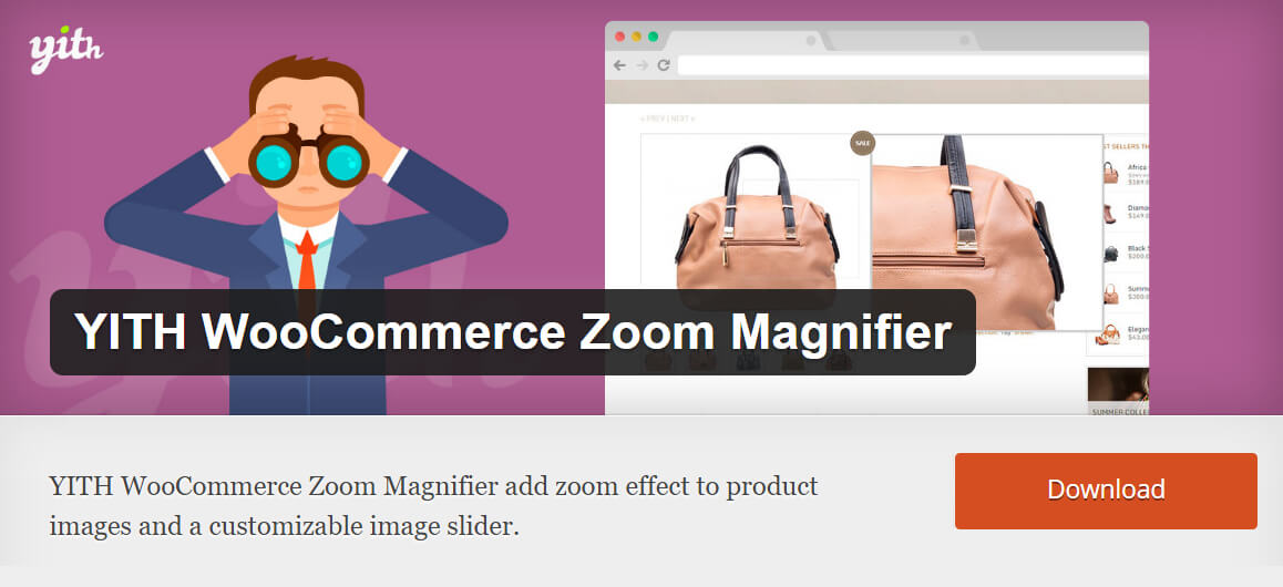 Free WooCommerce extensions: Zoom Magnifier