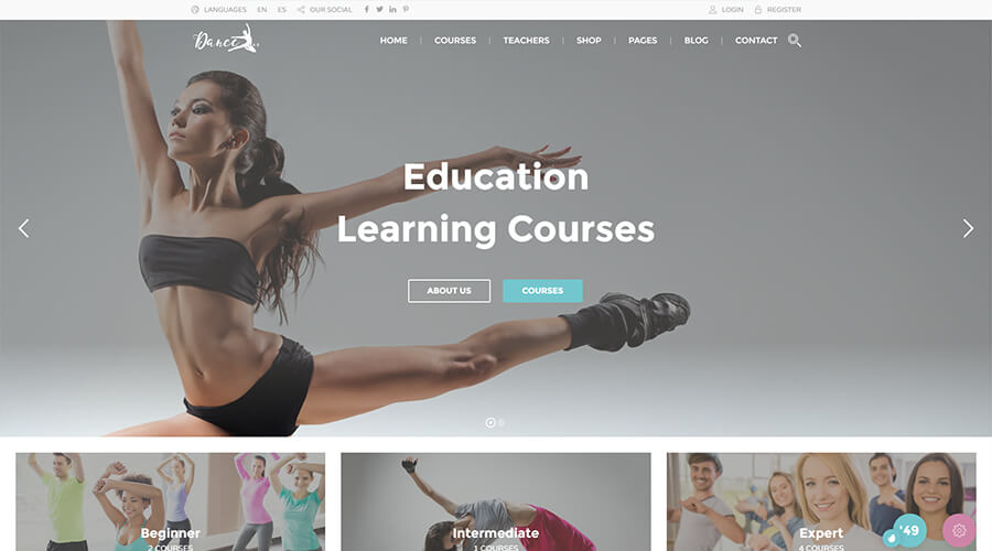 WordPress Education Themes: Education Pack