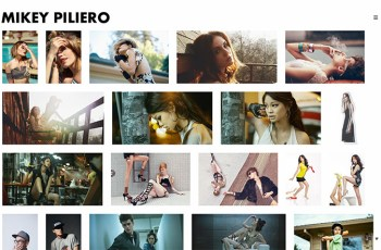 Mikey Piliero WordPress Theme