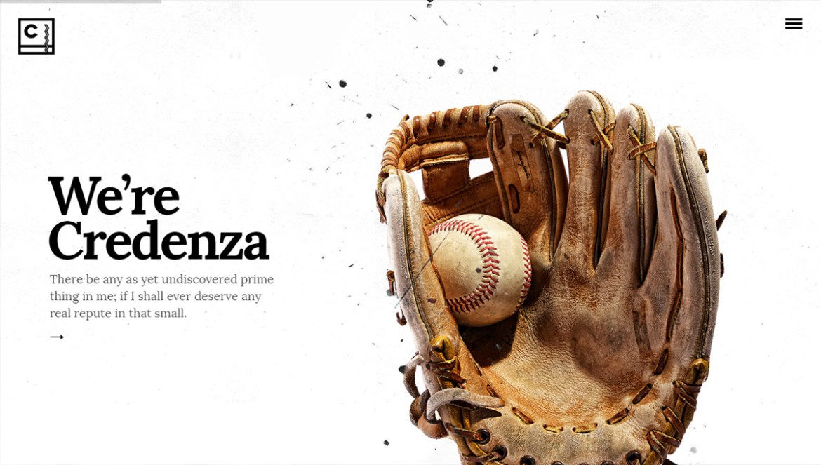 WordPress Sports Themes: credenza