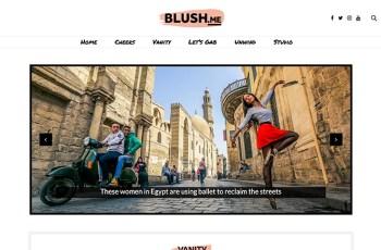 Blush.me WordPress Theme