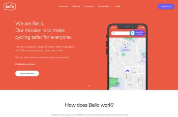 Bello App WordPress Theme