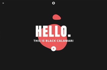 Black Calamari WordPress Theme