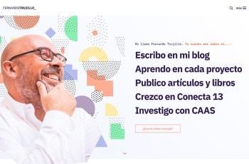 Fernando Trujillo WordPress Theme