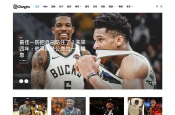 Dongtw WordPress Theme