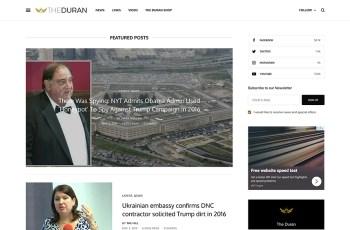 The Duran WordPress Theme