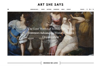 Art She Says WordPress Theme