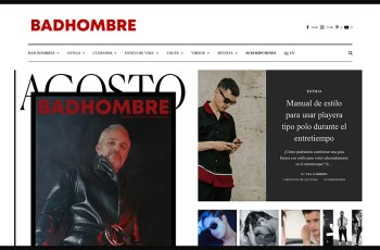 BADHOMBRE Magazine WordPress Theme