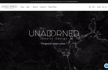 Unadorned Jewelry WordPress Theme