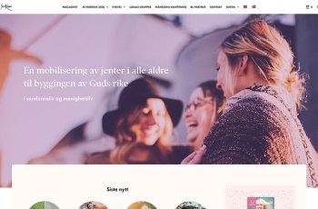 Jesus Kvinner WordPress Theme