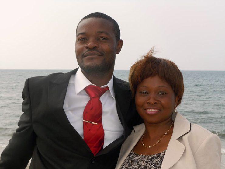 Pastor Braulio y su esposa