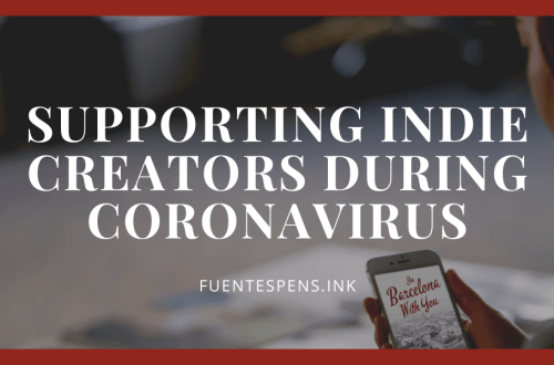 supporting indie creators during coronavirus