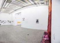 """An der zentralen Wand: Micha Payer, Margin Gabriel, """"Im Fluss"""", 2008"""