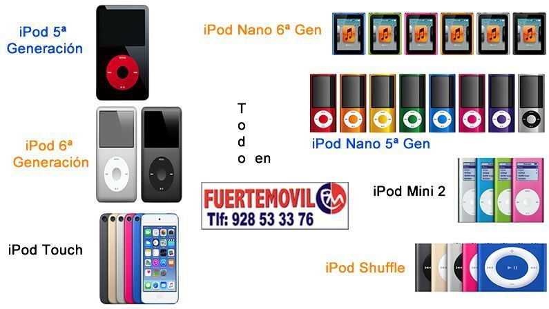 Modelos de iPod