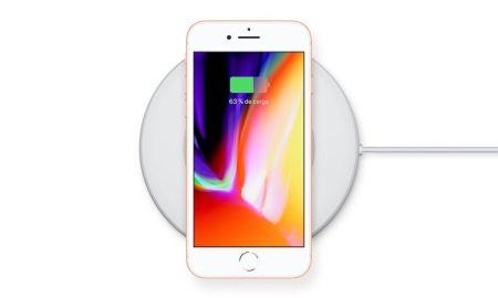 iPhone 8 y iPhone 8 Plus con carga inalambrica