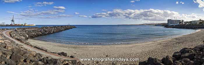 La Playa del Pozo o Playa Chica
