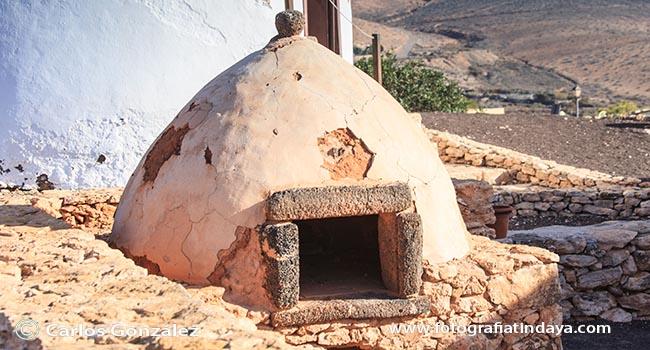 Horno tradicional de Fuerteventura