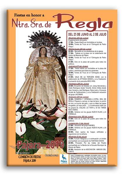 Fiestas de Pájara 2019 - Fiestas en honor a Nuestra Señora de Regla