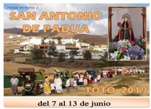 Fiestas de Toto 2019 @ Toto