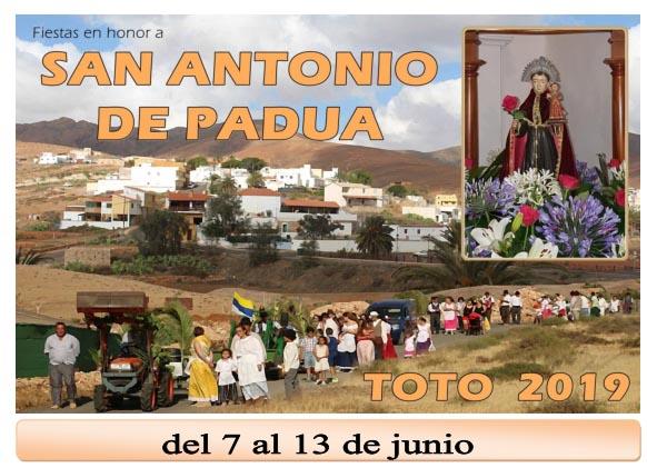 Fiestas de Toto 2019