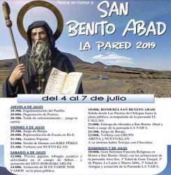Fiestas de San Benito Abad - La Pared 2019 @ La Pared