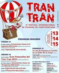 TRAN TRAN - 9º FESTIVAL INTERNACIONAL DE PAYASOS DE FUERTEVENTURA @ Gran Tarajal (Tuineje)