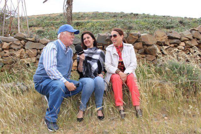 Tamariche entrevista en el Barranco de Agua de Bueyes Fuerteventura FM 98.6