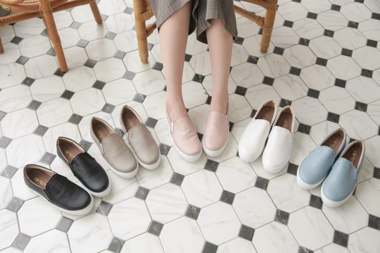 鞋櫃有這雙就夠了,太咪也瘋狂的富發牌懶人鞋