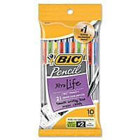 美國代購 10 計數 Bic Xtra 生活機械鉛筆 (0.7 毫米) $1.64 = 免費送貨 w / Prime 或訂單超過 25 美元, 或免費商店皮卡在沃爾瑪。 10-Count BIC Xtra Life Mechanical Pencil (0.7 mm) $1.64 + Free Shipping w/ Prime or on orders over $25, or free store pickup at Walmart