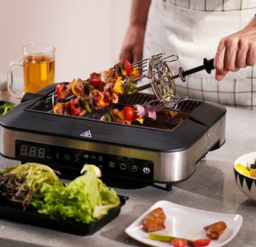 Fufilo 美國代購 巴切夫智慧烹飪系統使用紅外技術 The Barbechef Smart Cook System Uses Infrared Technology