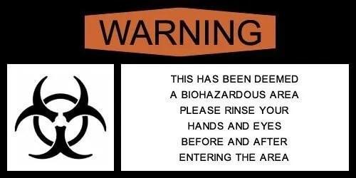 Biohazard pericolo infezione