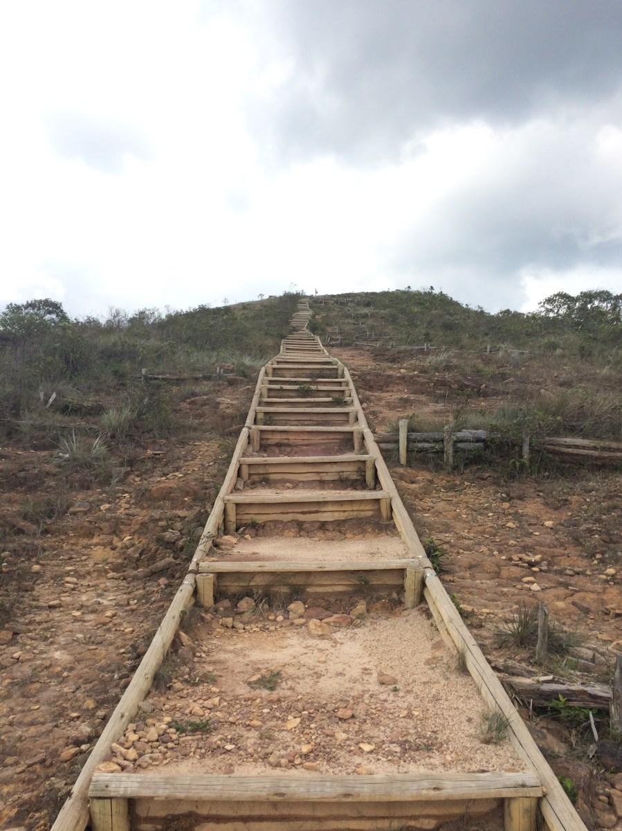 Última subida até o Pico do Pião Parque Estadual do Ibitipoca